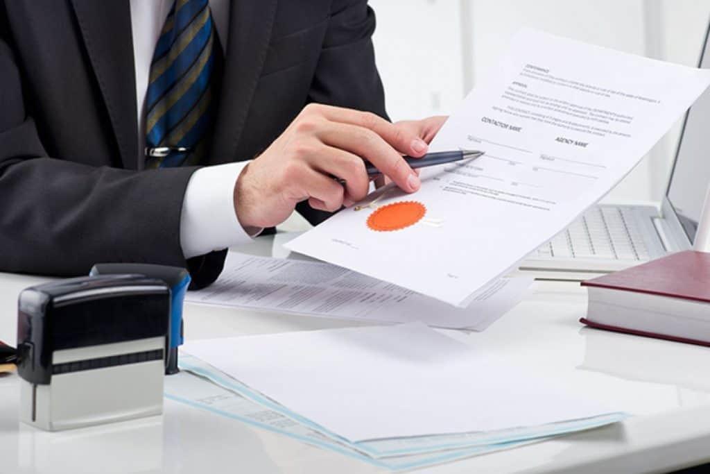 Legalisatie bij de notaris